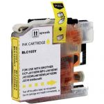 Brother Compatible LC105Y Super High Yield XXL Yellow Ink cartridge (LC105 Series)