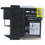 Brother Compatible LC61Bk Black Ink cartridge (LC61 Series)