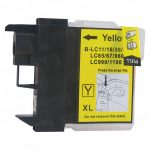 Brother Compatible LC61Y Yellow Ink cartridge (LC61 Series)