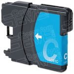 Brother Compatible LC65C High Yield Cyan Ink cartridge (LC65 Series)