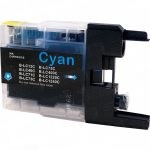 Brother Compatible LC75C High Yield Cyan Ink cartridge (LC75 Series)