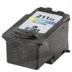 Replacement for Canon CL-211XL CL211XL High Yield Color Inkjet Cartridge