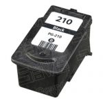 Replacement for Canon PG-210 PG210 Black Inkjet Cartridge