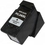 Replacement for Canon PG-240XL PG240XL High Yield Black Inkjet Cartridge