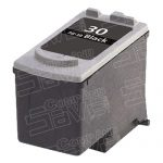 Replacement for Canon PG-30 PG30 Black Inkjet Cartridge