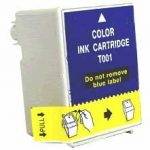 Remanufactured Epson T001011 (T001) Color Ink Cartridge