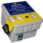 Remanufactured Color InkJet Cartridge for Stylus C41 Printer – replaces Epson T039020