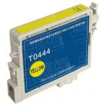 Remanufactured Yellow InkJet Cartridge for Stylus C64/C84/C86/CX4600 Printers – replaces Epson T044420