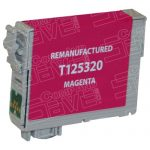 Remanufactured Epson #125 T125320 (T1253) Magenta Pigment Based Ink Cartridge
