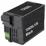 Remanufactured Epson #252XL T252XL120 (T252XL1) High Yield Black Ink Cartridge
