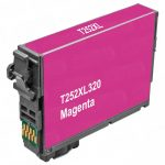 Remanufactured Epson #252XL T252XL320 (T252XL3) High Yield Magenta Ink Cartridge