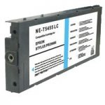 Remanufactured Photographic Dye Light Cyan Inkjet Cartridge for Epson Stylus Pro 9600/7600 Printers – replaces Epson T545500
