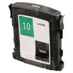 Replacement for Hewlett Packard C4840A (HP 10 Black) Standard Yield Ink Cartridge