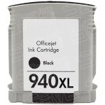 Replacement for Hewlett Packard C4906AN (HP 940XL High Yield Black) Ink Cartridge with working Ink Indicator Chip