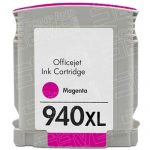 Replacement for Hewlett Packard C4908AN (HP 940XL High Yield Magenta) Ink Cartridge with working Ink Indicator Chip