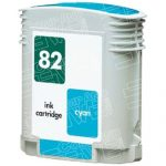 Replacement for Hewlett Packard (HP) C4911A (HP 82) Cyan Ink Cartridge