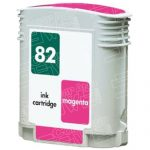 Replacement for Hewlett Packard (HP) C4912A (HP 82) Magenta Ink Cartridge