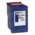 Replacement for Hewlett Packard C8728AN (HP 28 Tri Color) Ink Cartridge