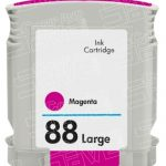 Replacement for Hewlett Packard (HP) C9392AN (HP 88XL Magenta) High Yield Ink Cartridge