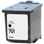 Replacement for Hewlett Packard (HP) CC635A (HP 701) Pigment Black Ink Cartridge