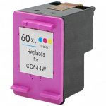 Replacement for Hewlett Packard (HP) CC644WN (HP 60XL) High Yield Tri Color Ink Cartridge
