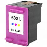 Replacement for Hewlett Packard (HP) F6U63AN (HP 63XL) Color Ink Cartridge
