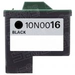 Replacement for Lexmark 10N0016 (#16) Black Ink Cartridge