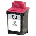 Replacement for Lexmark 12A1980 (#80) Color Ink Cartridge