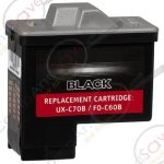 Replacement for Sharp Black FO-C60B FOC60B Inkjet Cartridge