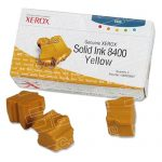 Xerox OEM Phaser 8400 (3 Yellow Sticks) 108R00607 Solid Ink ColorStix