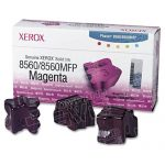 Xerox OEM Phaser 8560 (3 Magenta Sticks) 108R00724 Solid Ink ColorStix