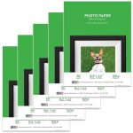 Premium Glossy Inkjet Photo Paper (8.5″ x 11″) 100 sheets – Resin Coated