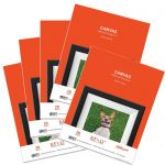 Premium Printable Cotton Canvas (8.5″X11″) 100 sheets for Inkjet printer – 260g