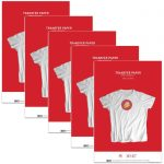 Premium T-shirt Iron-on Transfers for Inkjet Printers (11″X17″) 100 sheets for use with White or Light Colored Fabric