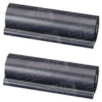 Brother PC102 / PC102RF Compatible Thermal Fax Ribbon Refill Rolls (2 Pack)