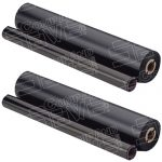 Brother PC202 / PC202RF Compatible Thermal Fax Ribbon Refill Rolls (2 Pack)