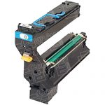 Replacement for Konica-Minolta Magicolor 5430 / 5450 1710580-004 Cyan Laser Toner Cartridge