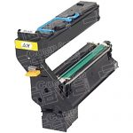 Replacement for Konica-Minolta Magicolor 5430 / 5450 1710580-002 Yellow Laser Toner Cartridge