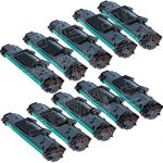 New Compatible Samsung ML-2010D3 (WholeSale Pack of 10) High Capacity Black Laser Toner Cartridge (ML2010)