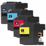 Brother Compatible LC10E Series Super High Yield XXL Ink cartridge (Bulk Set of 4):  1 Black, 1 Cyan, 1 Magenta, 1 Yellow