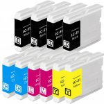 New Compatible Brother LC-51 Series (LC51 Bulk Set of 10 Packs) High Capacity Inkjet Cartridge for DCP IntelliFax MFC Printers