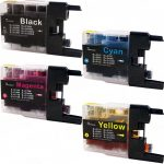 New Compatible Brother LC75 XL (Bulk Set of 4 Packs) High Yield Inkjet Cartridge (LC75 Series)
