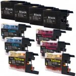 New Compatible Brother LC79 XXL (Bulk Set of 10 Packs) Super High Yield Inkjet Cartridge (LC79 Series)