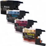 New Compatible Brother LC79 XXL (Bulk Set of 4 Packs) Super High Yield Inkjet Cartridge (LC79 Series)