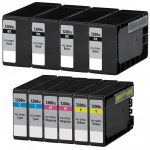 Compatible Canon PGI-1200XL (Bulk Set of 10-Pack) High Yield Ink Cartridge (9183B001): 4 Black, 2 Cayn, 2 Magenta, 2 Yellow