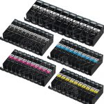 (With Chip) New Compatible Canon PGI225 & CLI226 (Bulk Set of 50-Pack) Inkjet Cartridges for Canon Pixma Printers:  10 each of PGI-225PGBK / CLI-226BK / CLI-226C / CLI-226M / CLI-226Y.