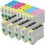 Remanufactured Epson 79 Series (T079 Bulk Set of 15 Packs) High Capacity Inkjet Cartridges for Stylus Photo 1400 Printer