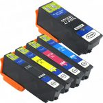 Remanufactured Epson #273XL / T273XL (Set of 5) High Yield Ink Cartridge: 1 Black, 1 Photo Black, 1 Cyan, 1 Magenta & 1 Yellow