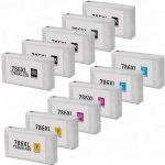 Remanufactured Epson 786XL (T786XL) High Yield Ink Cartridge (Bulk Set of 11):  5 Black, 2 Cyan, 2 Magenta, 2 Yellow