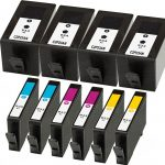 Replacement for Hewlett Packard HP 934XL / 935XL (Set of 10) High Yield Ink Cartridge: 4 Black, 2 Cyan, 2 Magenta, 2 Yellow